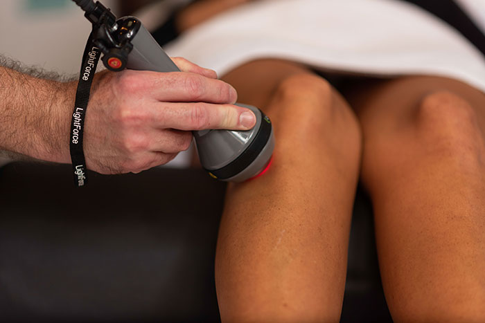 Deep tissue laser therapy