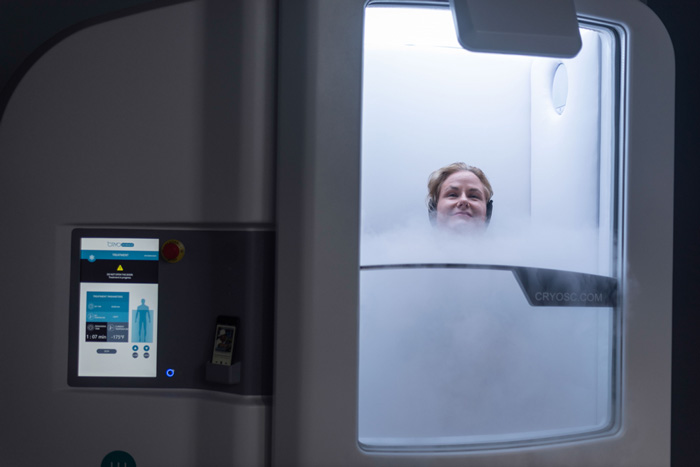 whole body cryotherapy chamber